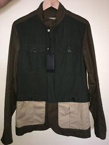 DSQUARED-2-raro-para-hombre-multicolor-chaqueta-tamano-de-Reino-Unido-38-IT48-aunthentic-Nuevo-con