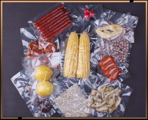 Food Vacuum Sealer Sacs Clair Pochettes bouchers viande sacs-qualité alimentaire /& BPA Free