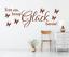 X4609-Wandtattoo-Spruch-Tritt-ein-bring-Glueck-Sticker-Wandaufkleber-Wandsticker Indexbild 1