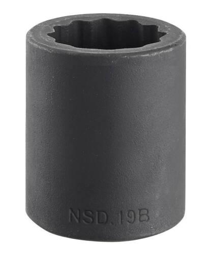 12-Point Metric Impact Socket 14mm Facom NSD.14B 1//2″ Drive Bi-Hexagon
