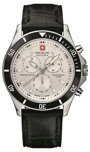 Swiss-Military-Hanowa-Homme-Montre-Quartz-Cuir-Noir-Sangle-6-4183-7-04-001-07