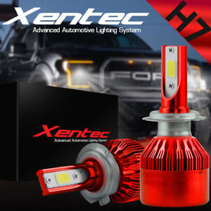 XENTEC-LED-HID-Headlight-kit-H7-White-for-Mercedes-Benz-CLA200-2014-2016