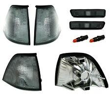 4 CLIGNOTANT AVANT + LATERAUX NOIR GRIS BMW SERIE 3 E36 COUPE CABRIOLET PHASE 2