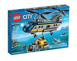 Lego® City 60093 - Hélicoptère hauturier Nouveau Ovp_ - Hélicoptère hauturier Nouveau Misb Nrfb