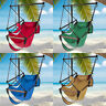 Outdoor Hanging Hammock Rope Chair Porch Swing Seat Camping Patio w/Carrying Bag