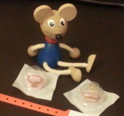 Nuk Kliniksauger Baby Reborn Realife rosa Frühchen Sauger Puppe Nuckel Pacifier