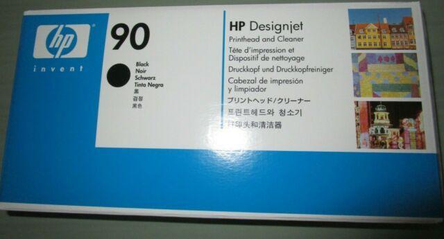 2020 HP 90 c5054a Printhead Black DesignJet  ➨☆ MANY GENUINE AVAIL ☆ ✌️✌️ ◕ ‿ ◕