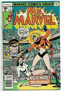 MS-MARVEL-7-VOLUME-1-VINTAGE-VF-NM-CAPTAIN-MARVEL-MOVIE-MS-1977-BRIE-LARSON