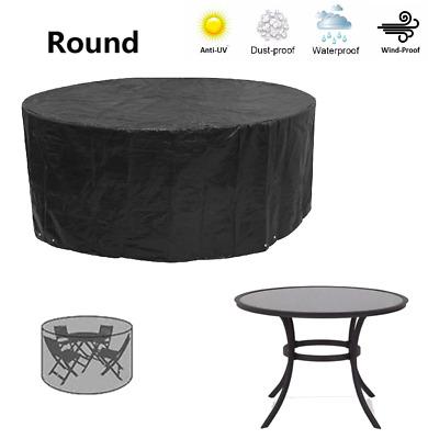 Round Garden Table Cover Circular, Small Round Garden Table Cover