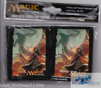Sarkhan Vol Planeswalker ULTRA PRO deck protector card sleeves Fate  Reforged MTG | eBay