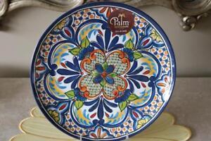 Image Is Loading Palm Restaurant Spanish Medallion Melamine Dinner Plates Multi