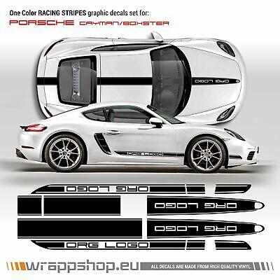 Porsche 911 997 991 Cayman Cayenne Martini Side Stripes Vinyls quality 2000mm