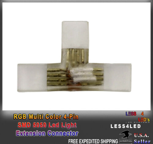 ConnectorS W 50m 100m 110v Flexible Outdoor LED Strip Light RGB Extensions