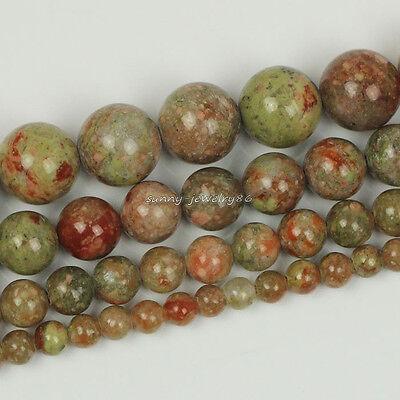"Natural Rose Quartz Gemstone Round Loose Beads 15.5/"" 4mm 6mm 8mm 10mm 12mm SL12"