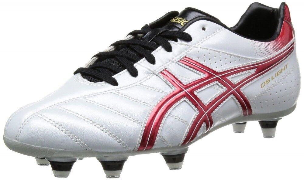 Asics De Fútbol Zapatos Spike Asics DS Light ® sistema de WD integral TSS709 blancooo Rojo X