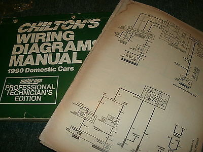 1990 ford mustang gt lx oversized wiring diagrams schematics sheets set |  ebay  ebay