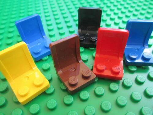 Lego QTY 6 x CAR SEATS Chair Space Friends Star Clone Wars City Town Tractor NEW