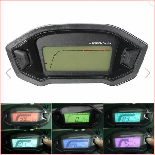 motorcycle adjustable digital odometer KPH /& MPH Yamaha Kawasaki Suzuki