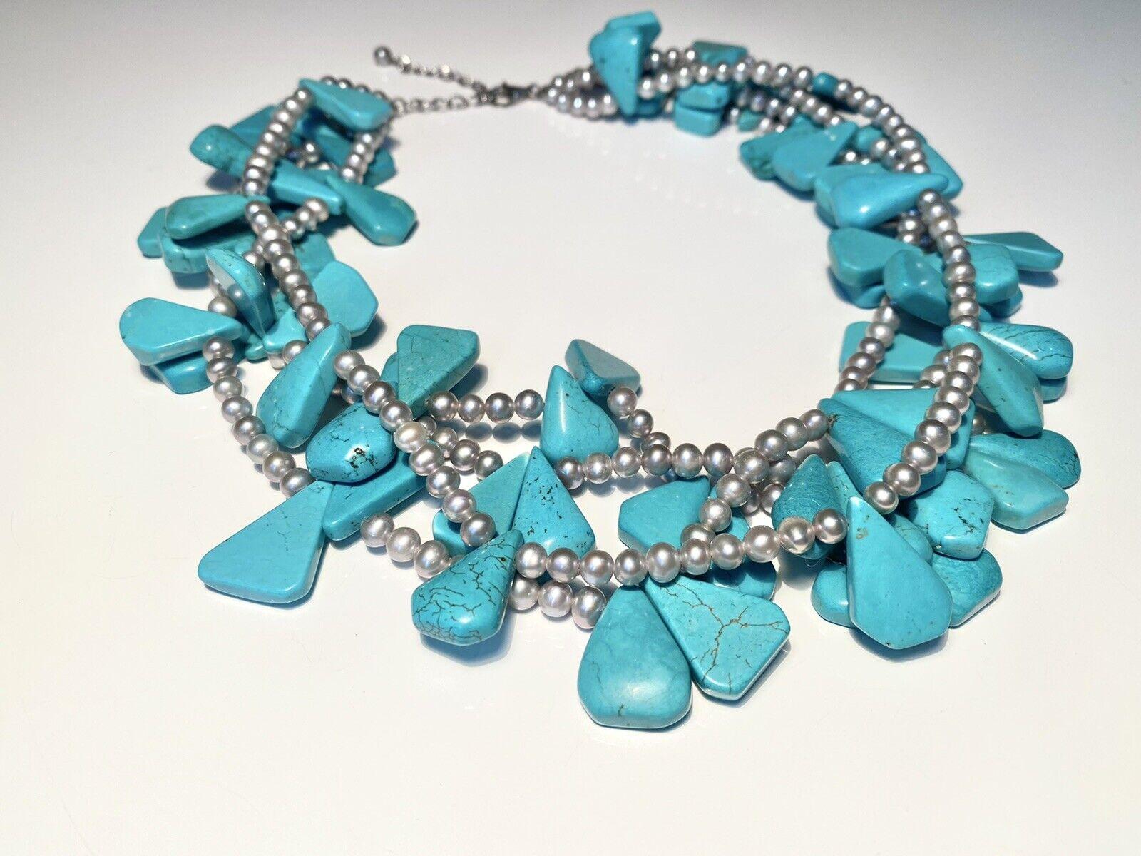Diana Venezia Turquoise Necklace - image 4