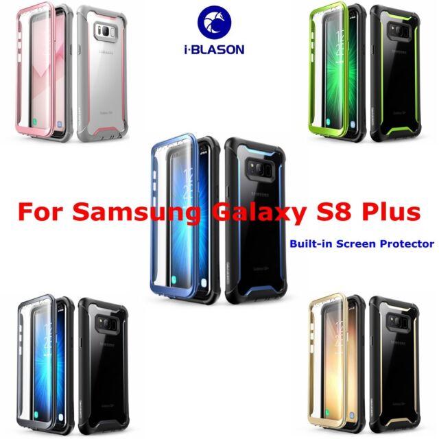 innovative design b82d7 23655 I BLASON Samsung Galaxy S8 Plus Rugged Armor With Screen Protector Cover  Case