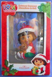 Dora-The-Explorer-Kurt-S-Adler-Dora-With-Teddy-Bear-Christmas-Ornament