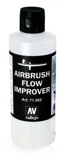 VALLEJO 200ml Bottle AIRBRUSH FLOW IMPROVER PAINT SUPPLY 71562 FREE SHIPPING