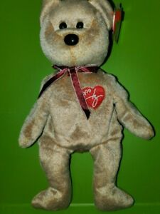 Ty 1999 Signature Bear Beanie Baby With Tag