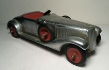 Vintage Diecast Aluminum Toy Race Car, Faith Mfg Co., Chicago, IL, c.1930's