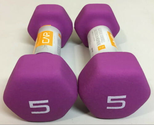 CAP Neoprene Dumbbell 10 lb SELECT YOUR WEIGHT BUNDLE! 3 lb 5 lb 8 lb 2 lb