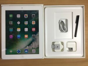 #GRADE A-# iPad 4th Generation 64GB, Wi-Fi + Cell (Unlocked), 9.7in,  White 885909658916