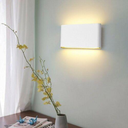 DE 6W//12W Modern LED Wandlampe Außen Wandleuchte Außenlampe Garten Innen IP65