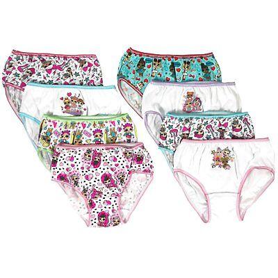 8 6 Disney Moana Girls Cotton Panties Underwear 7-Pack Toddler Sizes 2T//3T-4T