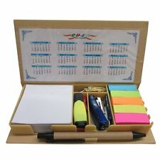 COMBO SCHOOL SUPPLIES BUNDLE PACK! Includes Pen, Notes, Flags, Stapler, Eraser,