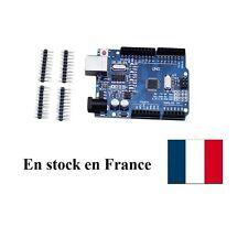 Arduino UNO R3 clone USB ATmega328P CH340G Board Stock France