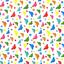 Telas-de-policotton-Tela-flamencos-Unicornios-Ladybirds-Perro-Gato-Conejo-Panda-pajaro-de-animales miniatura 11