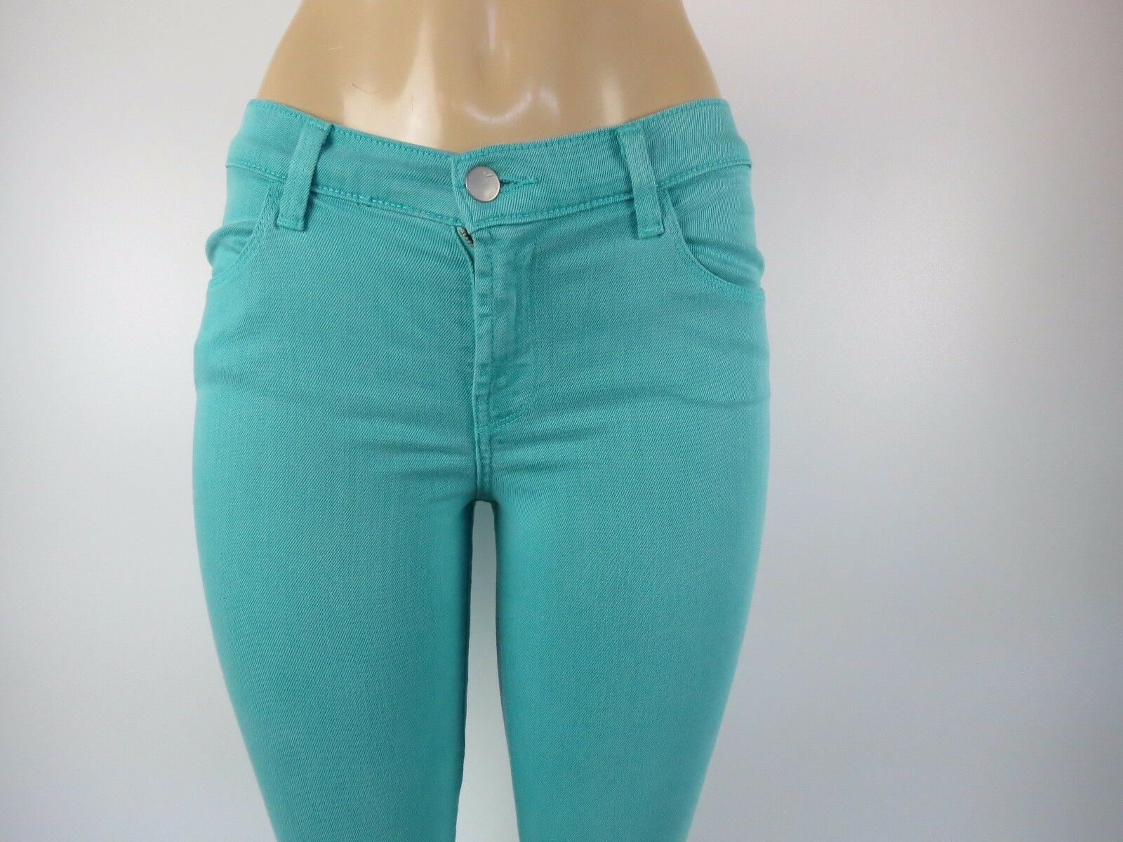 NWT J BRAND WOMENS JEANS, SUPER SKINNY MID-RISE, COLUMBIA, Size 28,