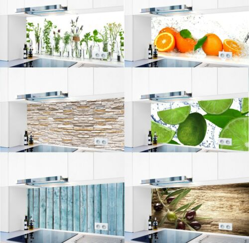 Kitchen Backboard Special Action Acrylic Glass 1000 Motifs Splash Guard badrückwand