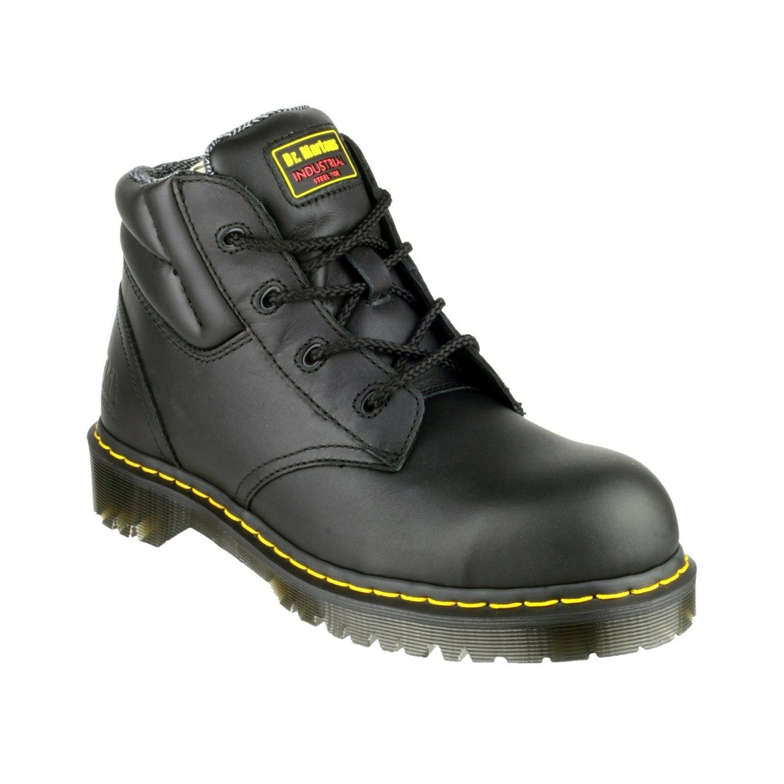 Dr Martens FS20Z Safety Stiefel Mens Industrial Leather Steel Toe Cap Work schuhe