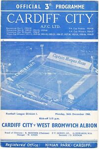 Cardiff-City-v-West-Bromwich-Albion-1960-1-26-Dec