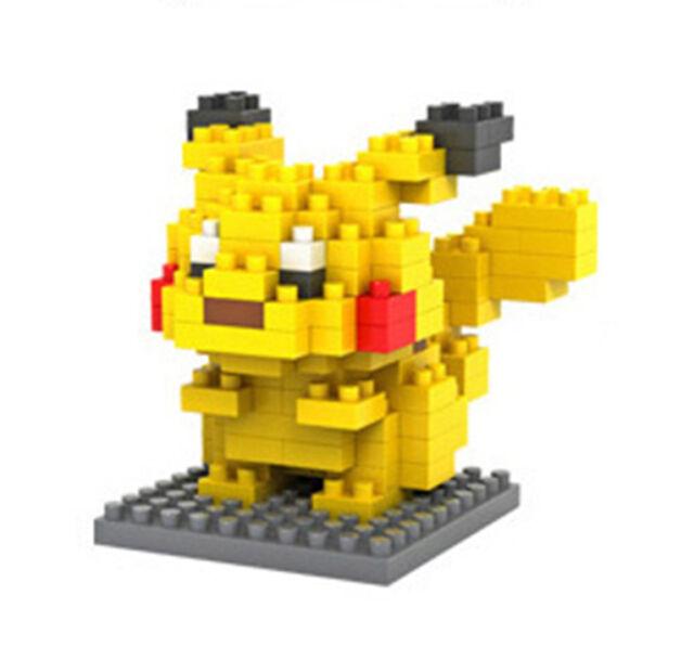 LOZ Nano Mini Diamond Building Blocks Lego Toy Pokemon Pocket Monster Pikachu