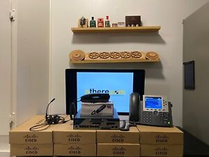 Staged-Preconfigured-Tested-Cisco-Network-and-IP-PBX-CME-12-Phone-System