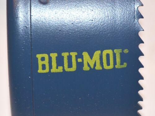 "NOS USA made 7 PC BLU-MOL HSS M42  BI-METAL 5//8/""-3-1//4/"" HOLE SAW SET F $49"