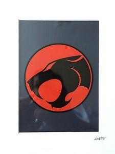 Thundercats Logo Hand Drawn /& Hand Painted Cel