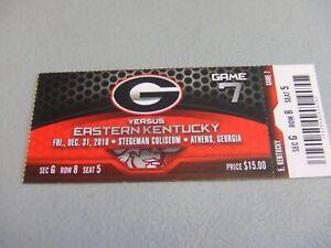 E. Kentucky Colonels vs Georgia Bulldogs (12-31-2010 ...