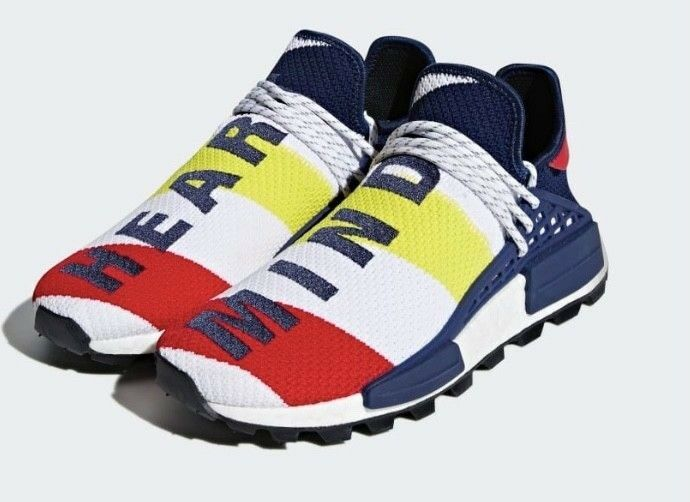 Adidas x Pharrell Williams BBC HU NMD Schuh, Neu, 47 1 3