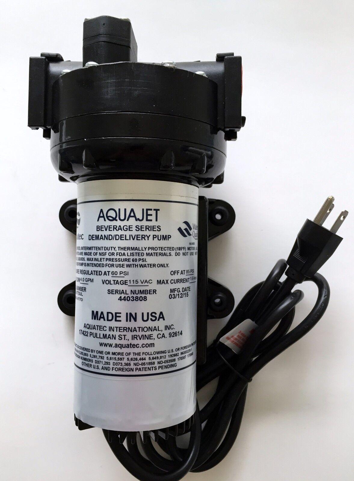 AQUATEC Osmose Inverse Vitesse Variable Pompe 115VAC 5502-IDN2-V77D