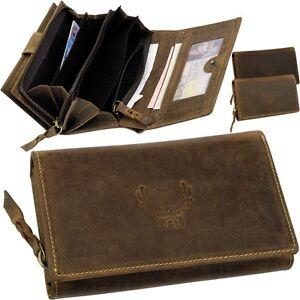 L-amp-B-Damen-Geldboerse-Portemonnaie-Geldtasche-Geldbeutel-Brieftasche-Rauhleder-NEU