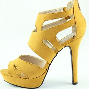 Strappy Platform Stilettos High Heel Pump Classic Women Dress