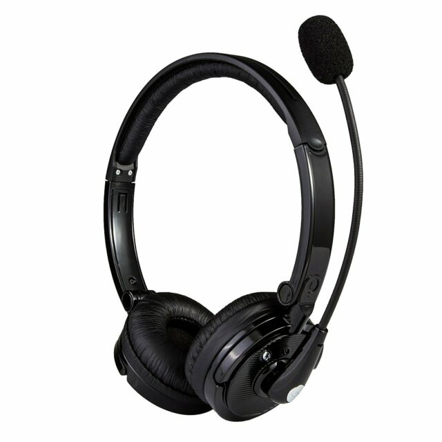 Oem Noisehush N720 N720m Bluetooth Headset Noise Hush Over The Head Headphones For Sale Online Ebay