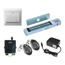 Visionis One Door Access Control Mag Lock Kit With Wireless Receiver And Remote